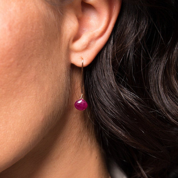 Ruby Earrings - Boutique Baltique