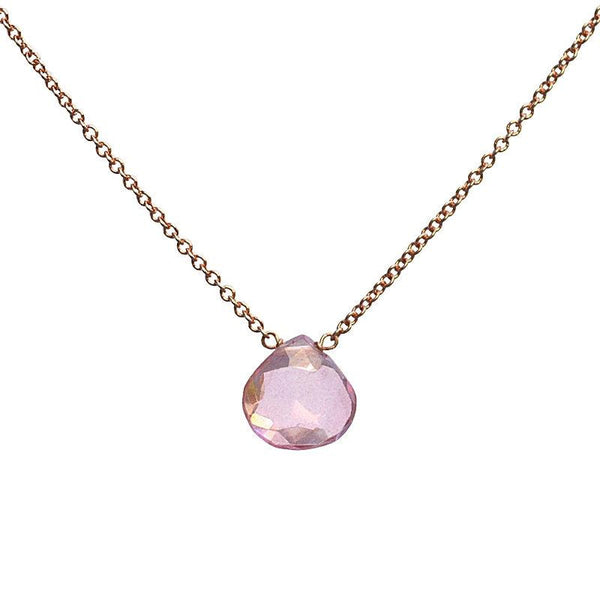Pink Topaz Necklace - Boutique Baltique