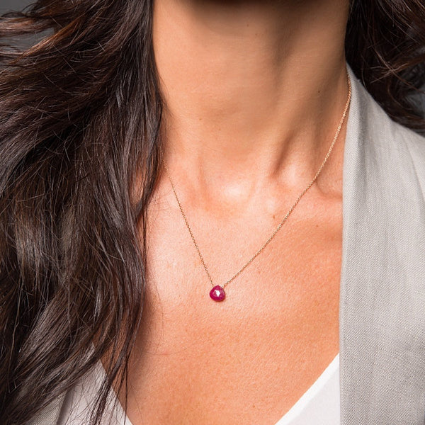Ruby Necklace - Boutique Baltique