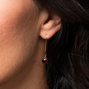Garnet Earrings - Boutique Baltique