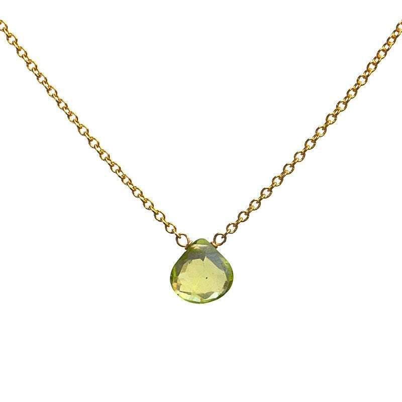 Peridot necklace - Boutique Baltique