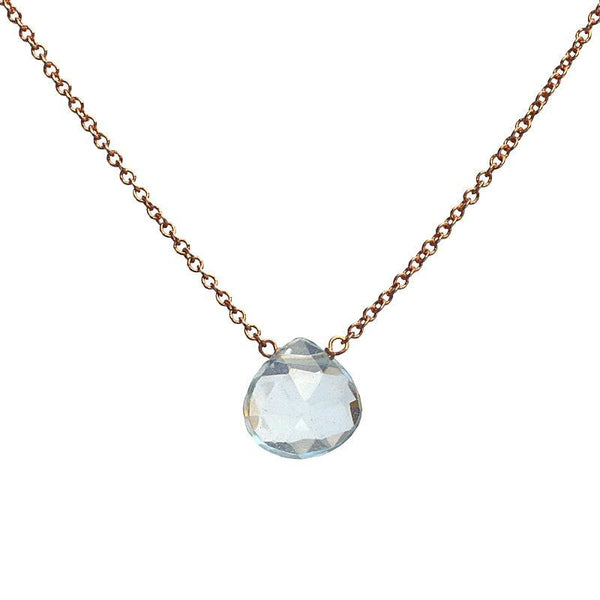 Aquamarine Necklace - Boutique Baltique
