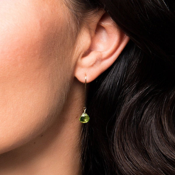 Peridot Earrings - Boutique Baltique