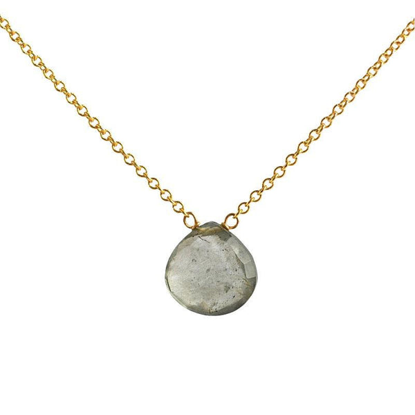 Moss Aquamarine Necklace - Boutique Baltique