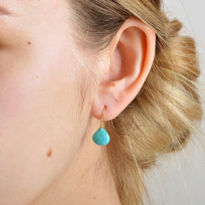 Kingman Turquoise Earrings - Boutique Baltique