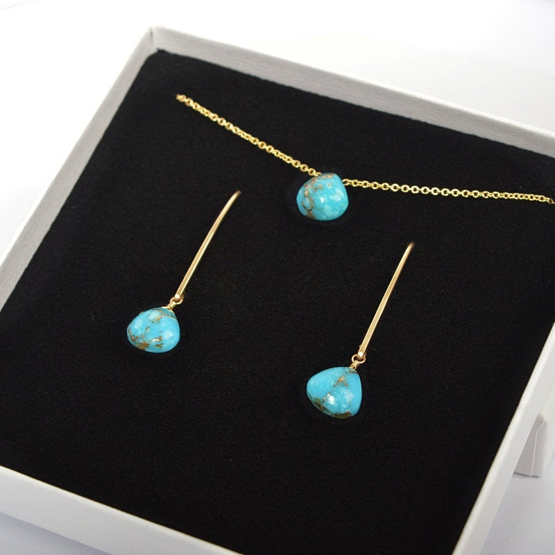 Mojave Turquoise Necklace - Boutique Baltique