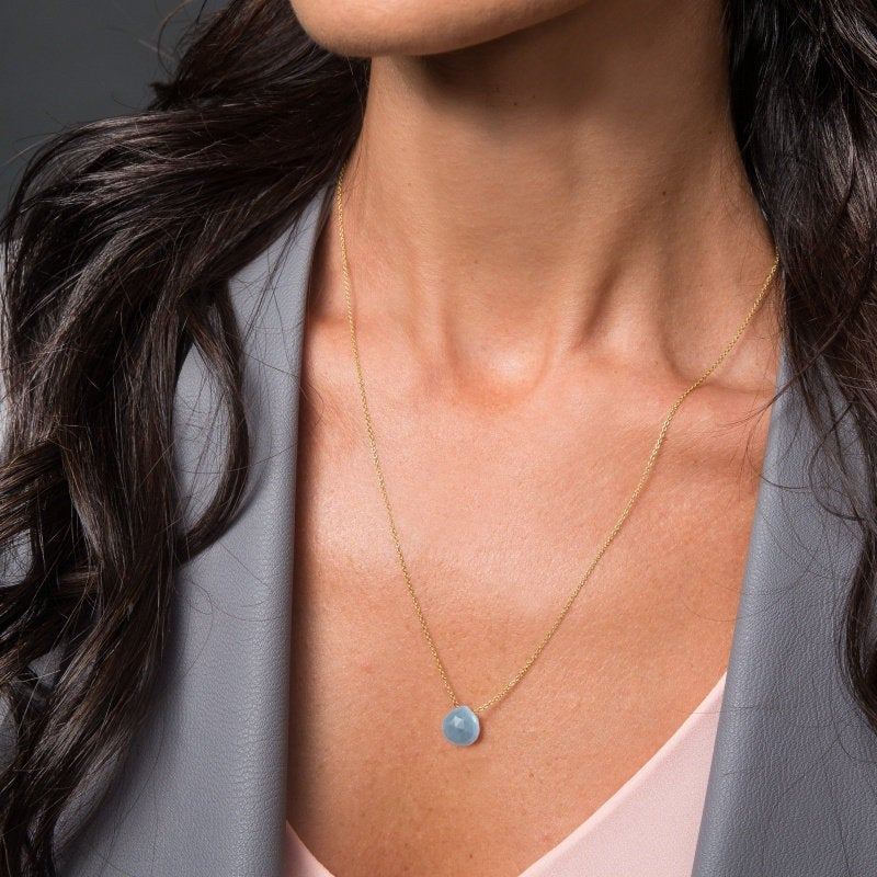 Blue Opal Necklace - Boutique Baltique