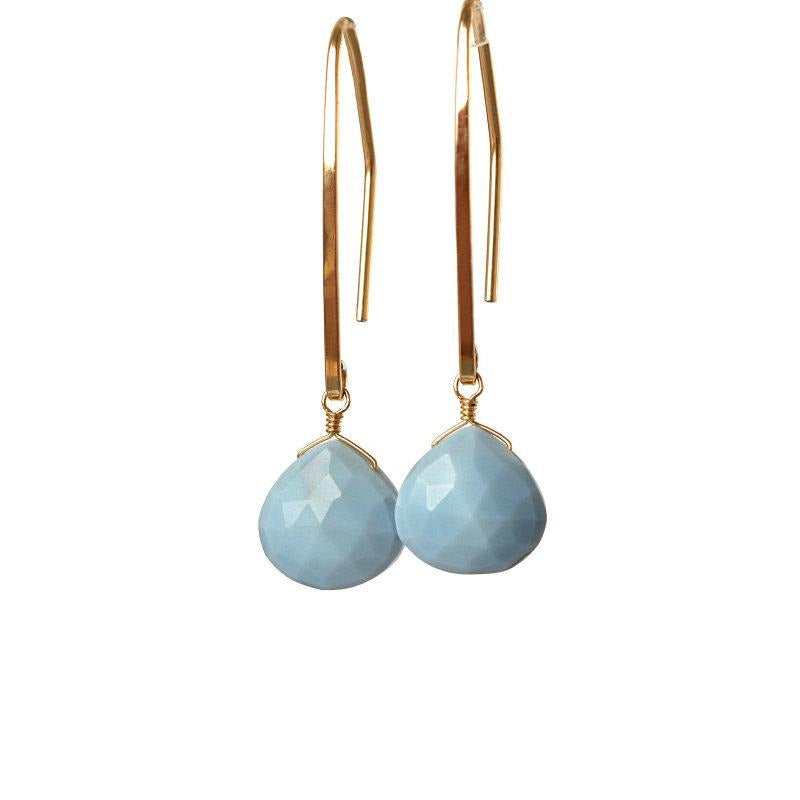 Blue Opal Earrings - Boutique Baltique