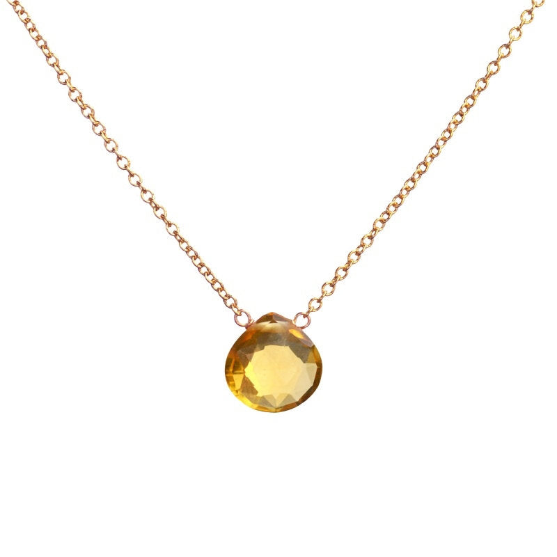 Citrine Necklace - Boutique Baltique