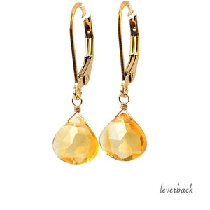 Citrine Earrings - Boutique Baltique