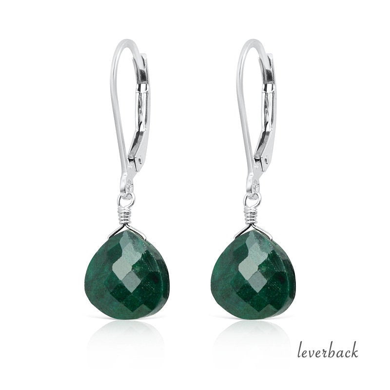 Emerald Earrings - Boutique Baltique