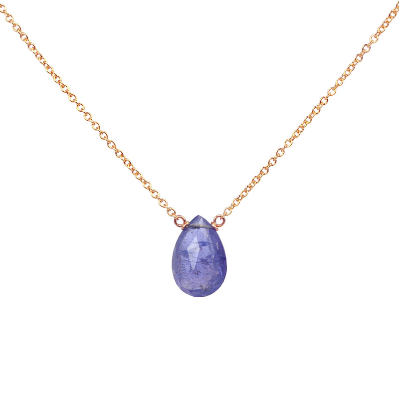 Tanzanite Necklace Bella - Boutique Baltique