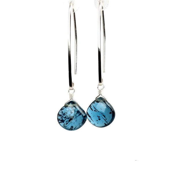 Moss Kyanite Earrings - Boutique Baltique