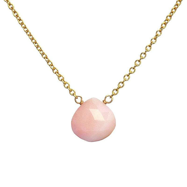 Pink Opal Necklace - Boutique Baltique