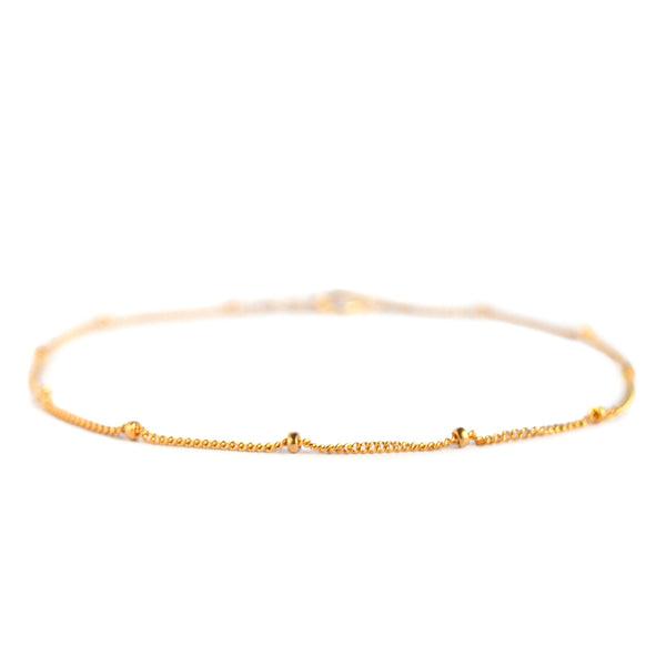 Delicate Satellite Anklet - Boutique Baltique