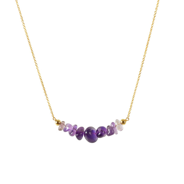 Raw Gemstone Necklace - pick your stone!