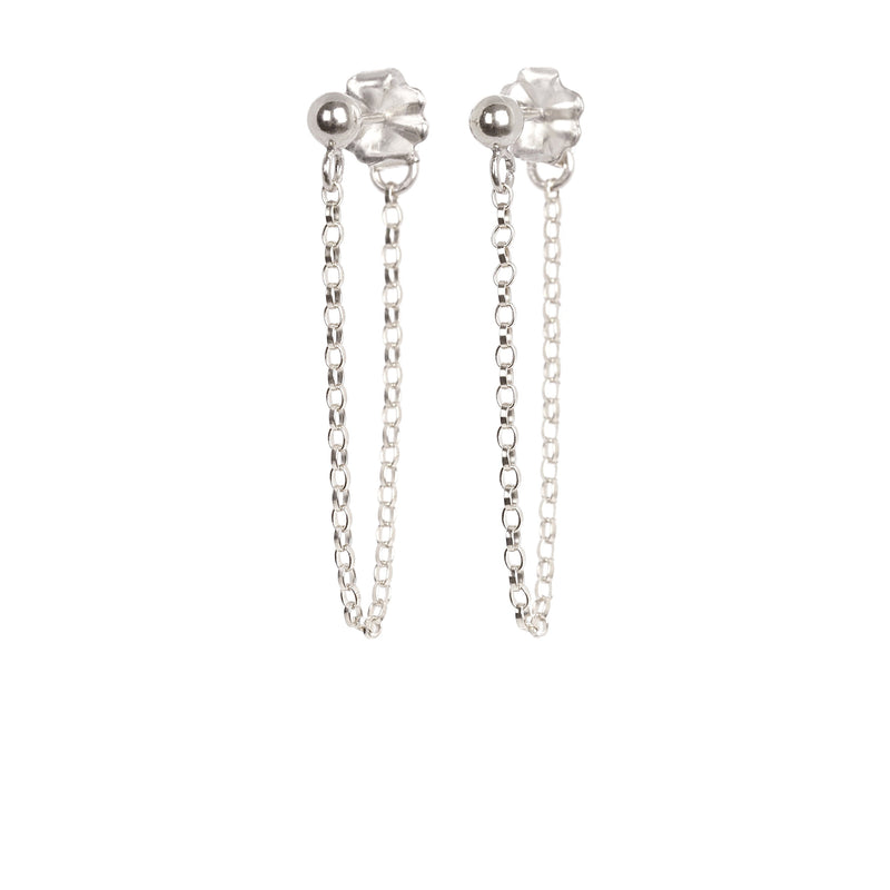 Short Chain Earrings - Boutique Baltique
