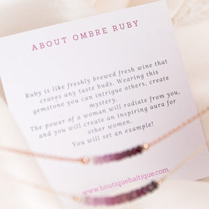 about ombre ruby