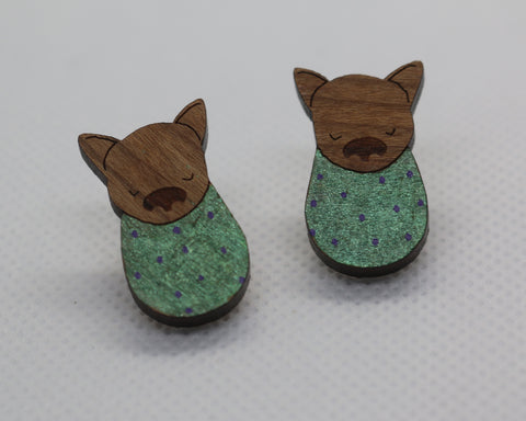 Fifi the flying fox studs