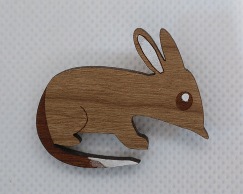 Billy the bilby badge