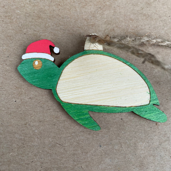 Tess the turtle xmas decoration
