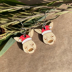 Kerrily the kangaroo xmas dangles