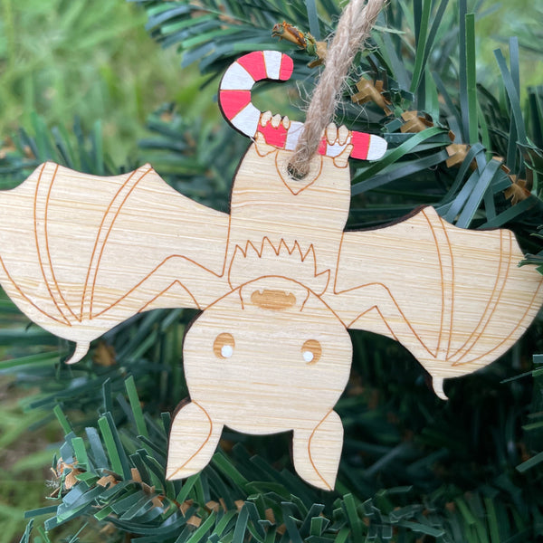 Fifi the flying-fox xmas decoration