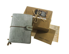 Load image into Gallery viewer, [Journal-Small] Leather Journal Travelers Notebook, Diary, Refillable & Handmade Vintage Personalized Gifts