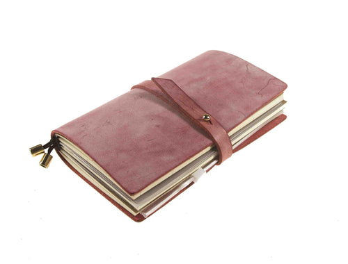 Leather Journal Planner Organizer Monthly Calendar & Daily