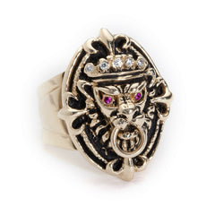 Lion Doorknocker Ring