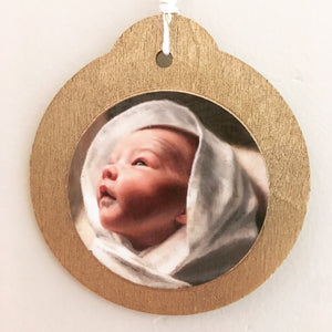 Nativity Ornament Set of Two or Four