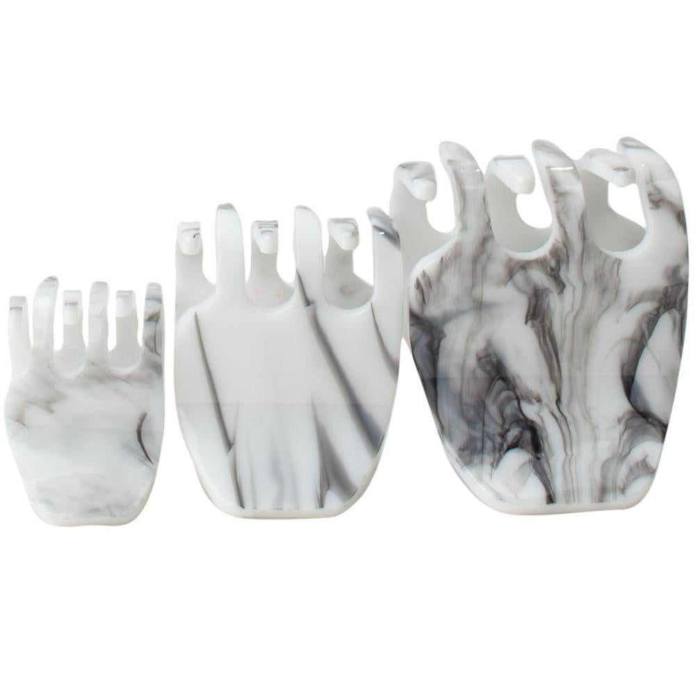 Marble Claw Clip 3PC Set