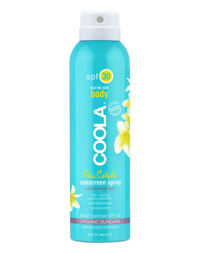 BODY SPF30 PINA COLADA SUNSCREEN SPRAY