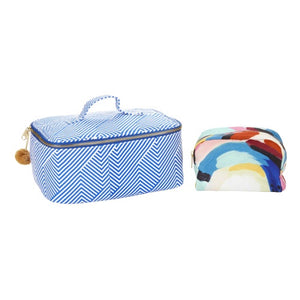 Paint The Town Cosmetic Bag 2 Pc