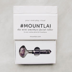 The Mini Amethyst Facial Roller