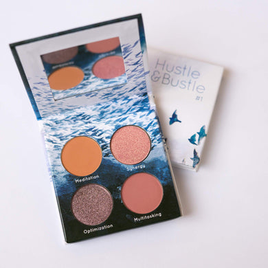 Hustle + Bustle Eyeshadow Quad #2