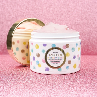 Mini Birthday Cake Body Butter