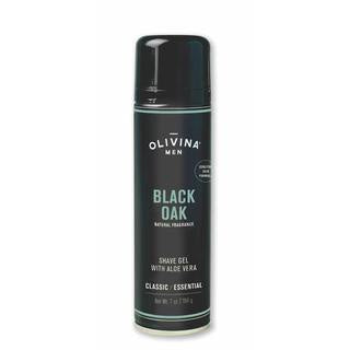 Olivina Men Foaming Shave Gel | Black Oak