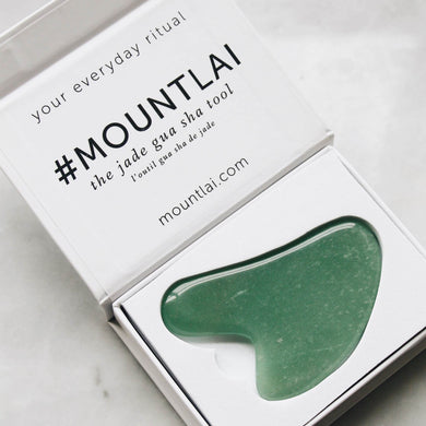 The Jade Gua Sha Facial Lifting Tool