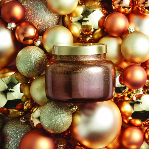 Tinsel and Spice Bronzed Signature Jar