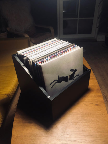 Vinyl LP Wood Box