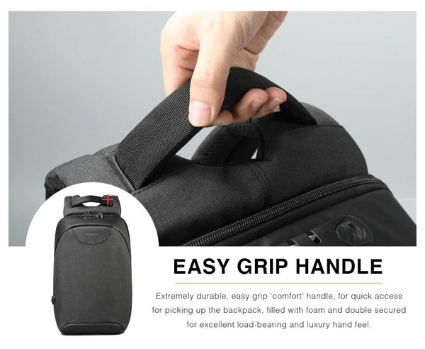 Laptop Backpack Easy Grip Handle