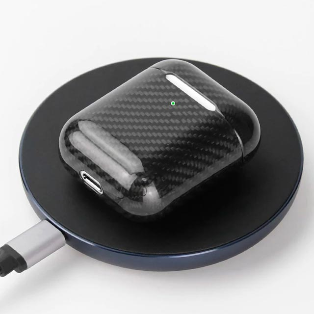 Carbon Fiber Apple AirPods Case Cover