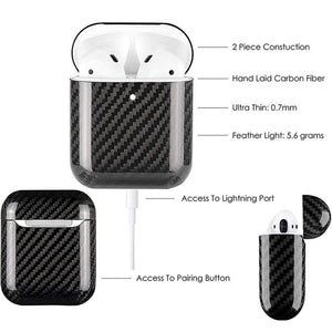 Features Of Carbon Fiber Airpods Case Cover