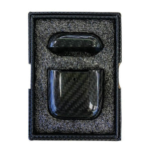 Luxury Carbon Fiber Airpods Cover Black