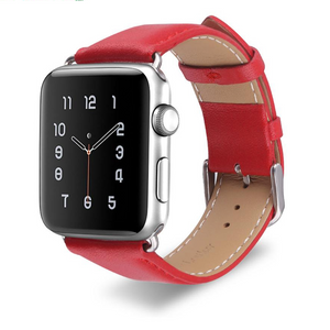 Premium Apple Watch Leather Band