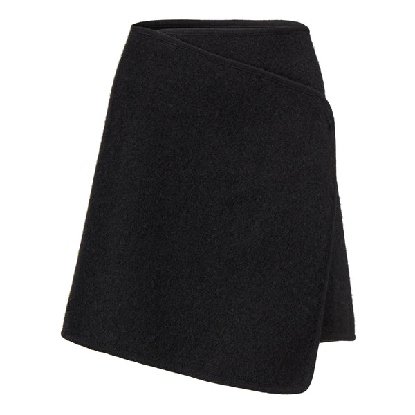 ESP WRAP SKIRT TWEED