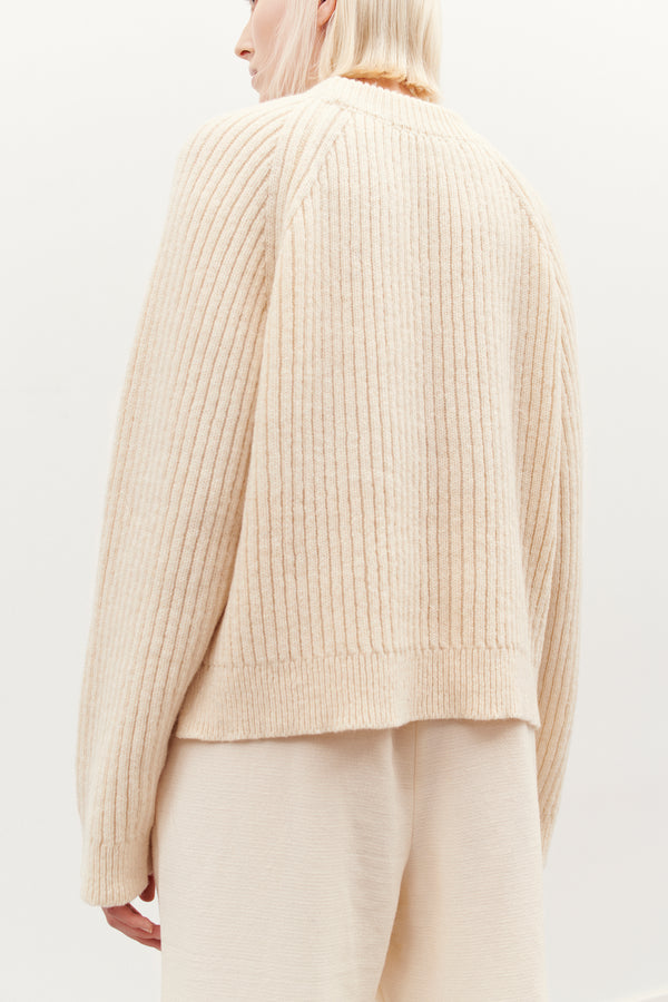 ESP FUNCTIONAL KNIT SWEATER OFFWHITE