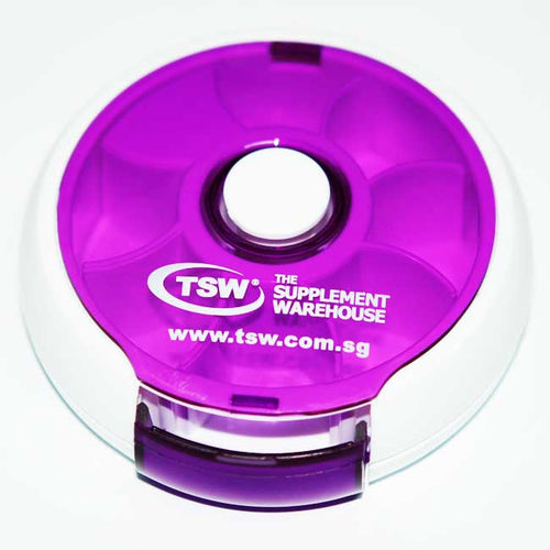 TSW Pill Box Circle Dispenser