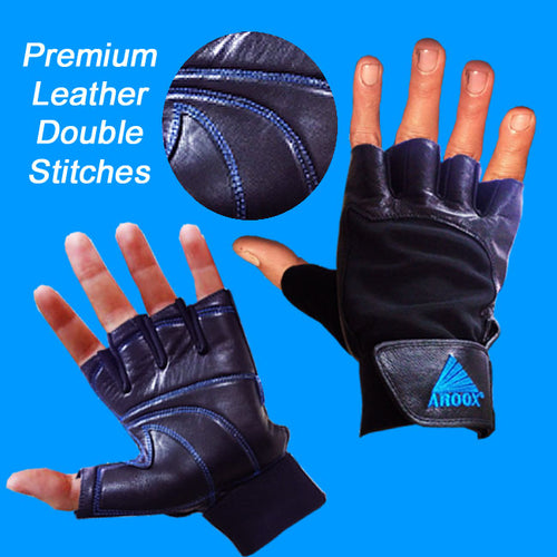 Aroox Premium Leather Gloves